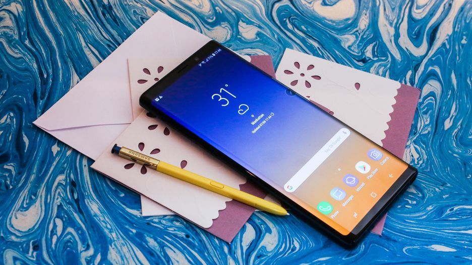 Samsung officially unveiled the Galaxy Note 9 1