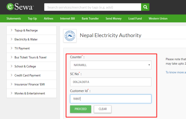 Pay Electricity Bill Online In Nepal 3