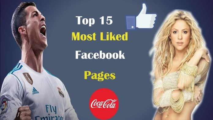 Top Most Liked Facebook Pages Of 2018 1