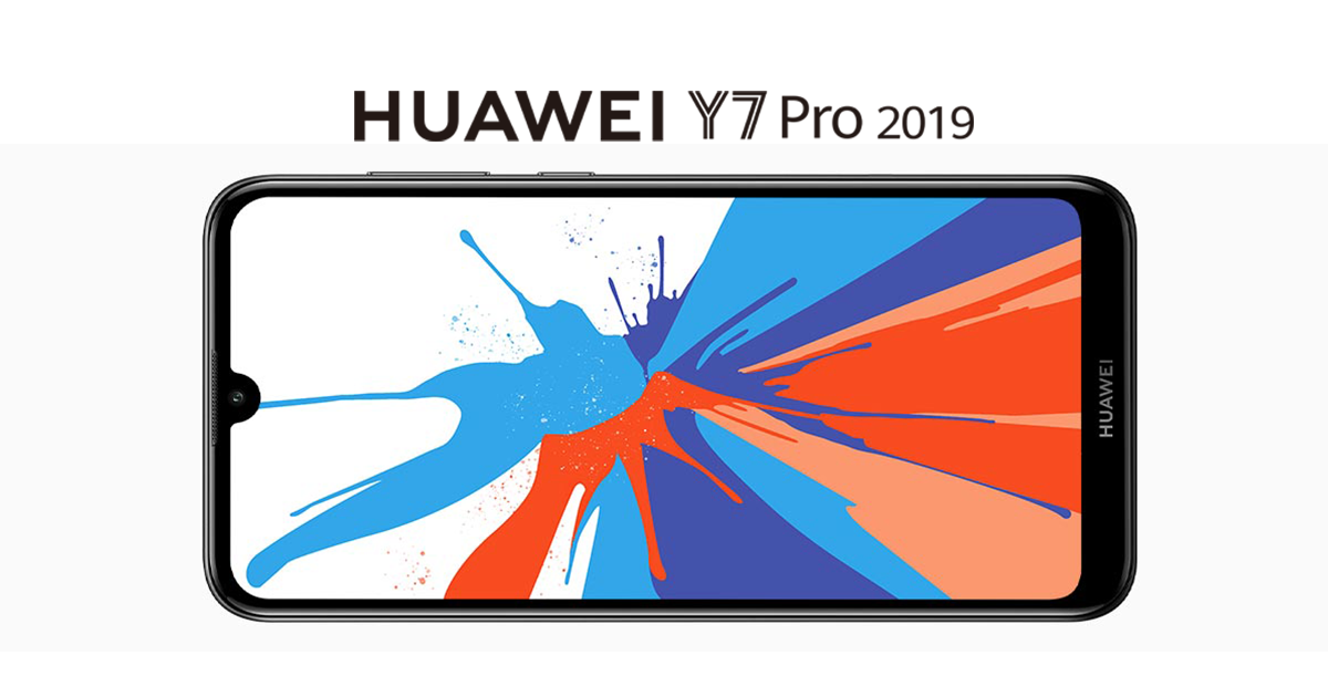 Huawei Y7 Pro 2019 - FingerPrint Version