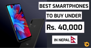 Best Smartphones Under 40000 in Nepal 2