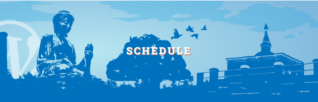 The schedule is out | WordCamp Butwal 2020