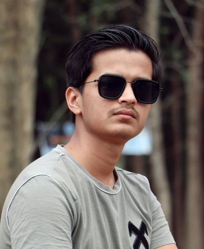 About Suraj Khanal and Covid-19 App