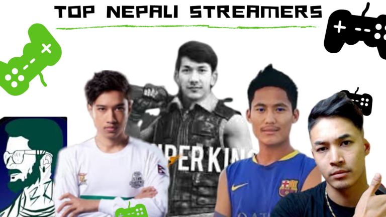 Top Nepali Streamers and Gamers in Nepal Ultimate List