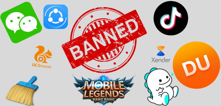 59 Chinese apps banned in India Tiktok, Uc Browser, Mobile legends and many more