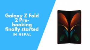 Samsung Announces Pre-booking for Galaxy Z Fold2