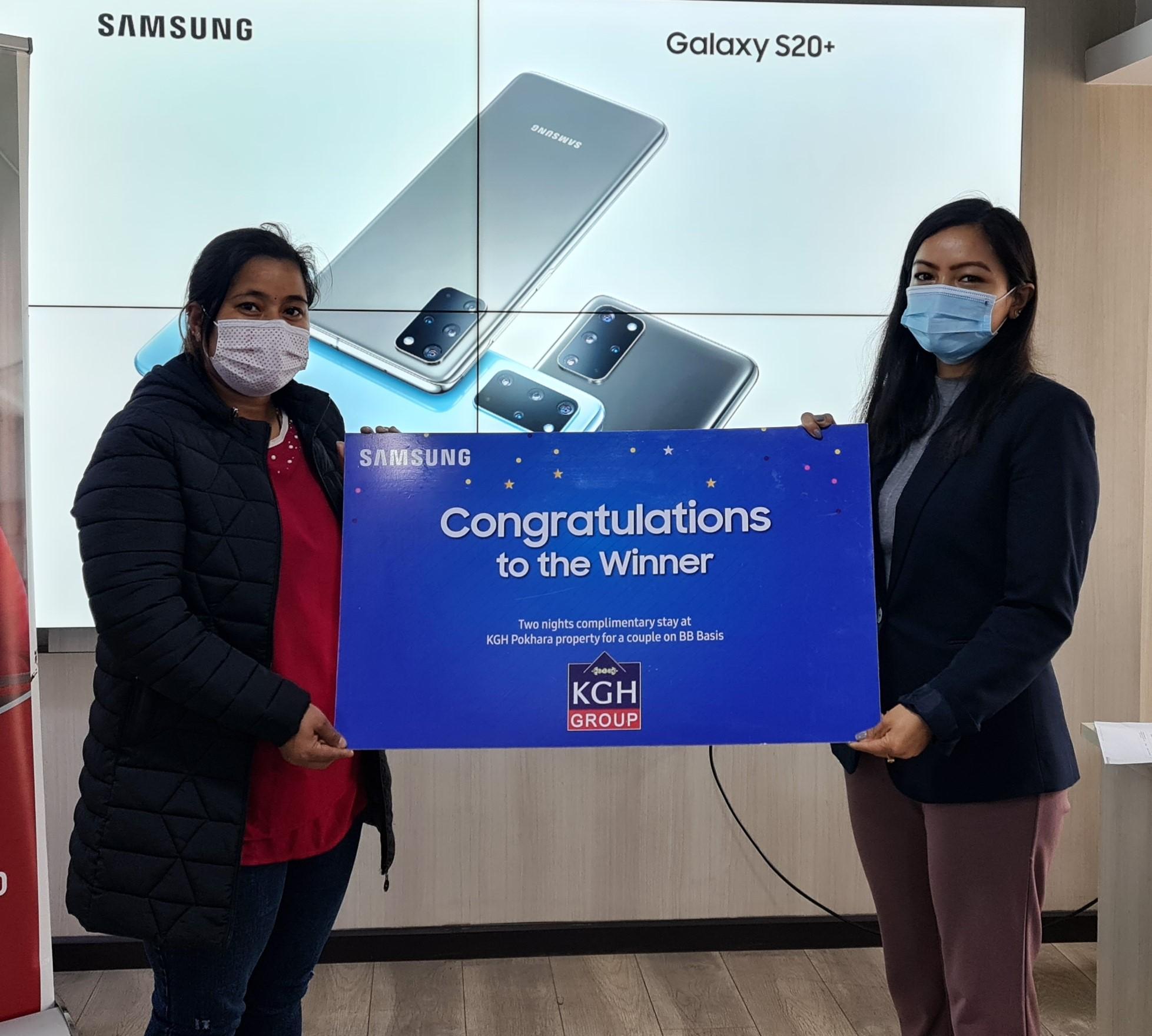 Samsung Finally Announces Lucky Draw Winners