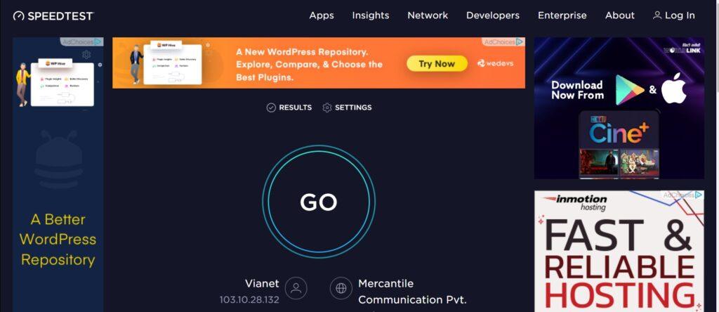 Top 6 Best Free Internet Speed Test Sites 1