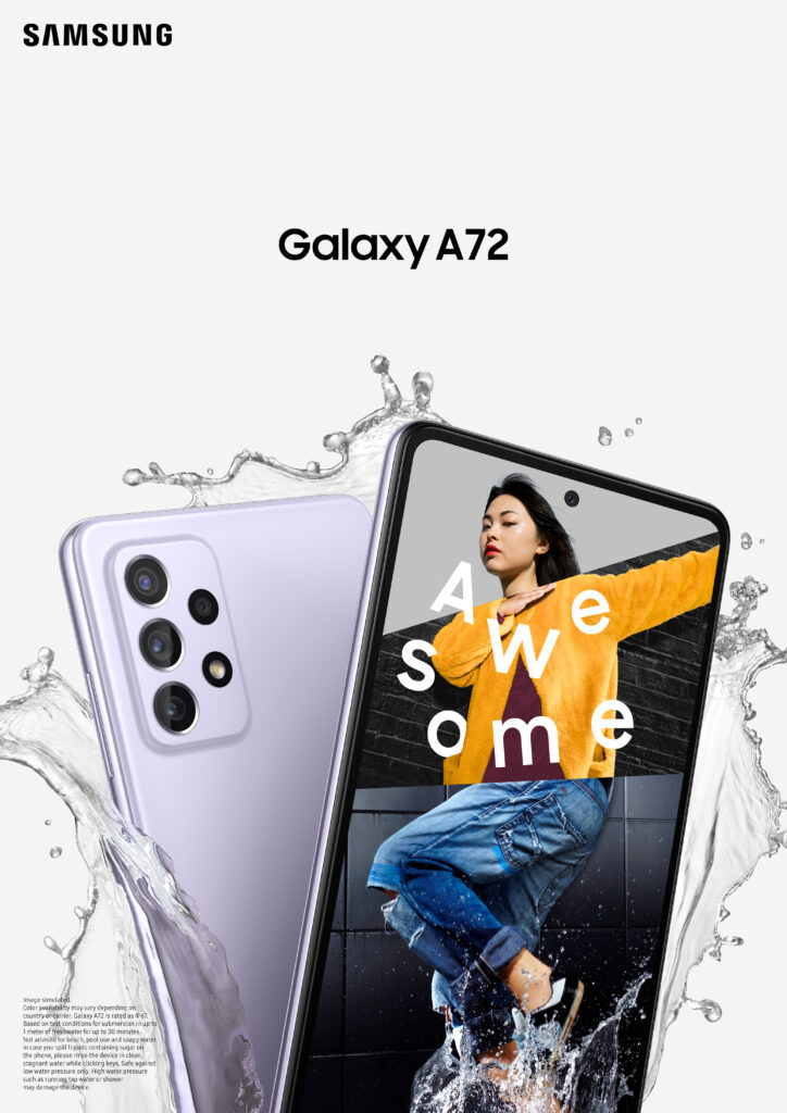 Samsung Nepal launches another 'Awesome' addition to the Galaxy A Series family with the all new Galaxy A72 1