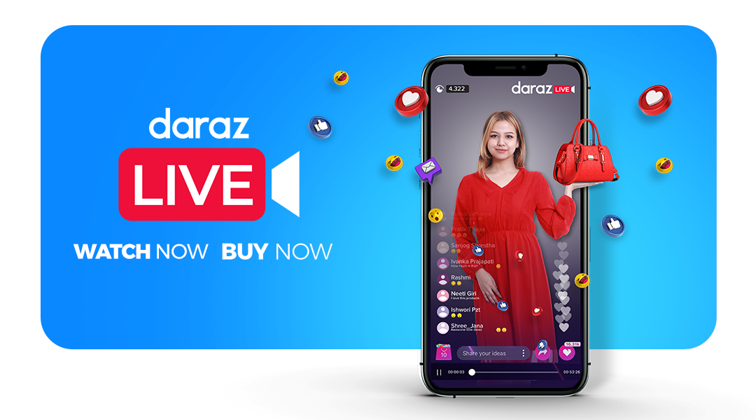 Nepal's Ecommerce Giant Daraz Set to Revolutionize Online Shopping with Daraz Live