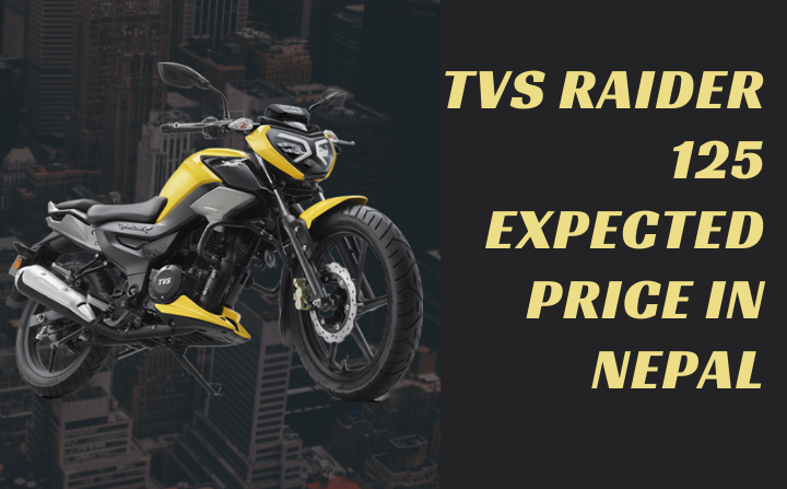 TVS Raider 125 launched in India Expect TVS Raider 125 Price in Nepal