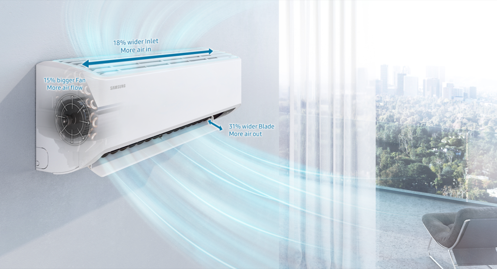 Samsung Launches 2021 Range of Convertible 5-in-1 Hot & Cold Inverter ACs 1